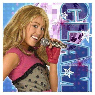 Hannah Montana Beverage Napkins 16ct