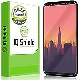 IQShield Galaxy S8 Plus Screen Protector (Not Glass), LiQuidSkin Full Coverage Screen Protector