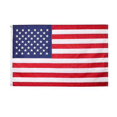 Beneland American USA US Flag, 3x5 US Flags Outdoor. Embroid