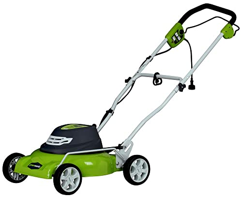 Greenworks 25012 18-Inch 12 Amp Best Buy Corded Electric Lawn Mower