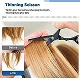 Hair Cutting Scissors Kits 10 PCS Stainless Steel