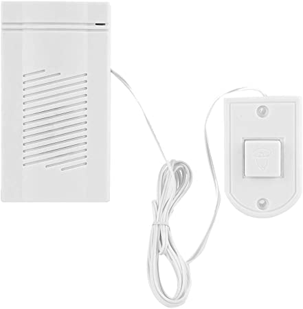 Amazon.com: Timbre de alambre para puerta, fácil de instalar ...
