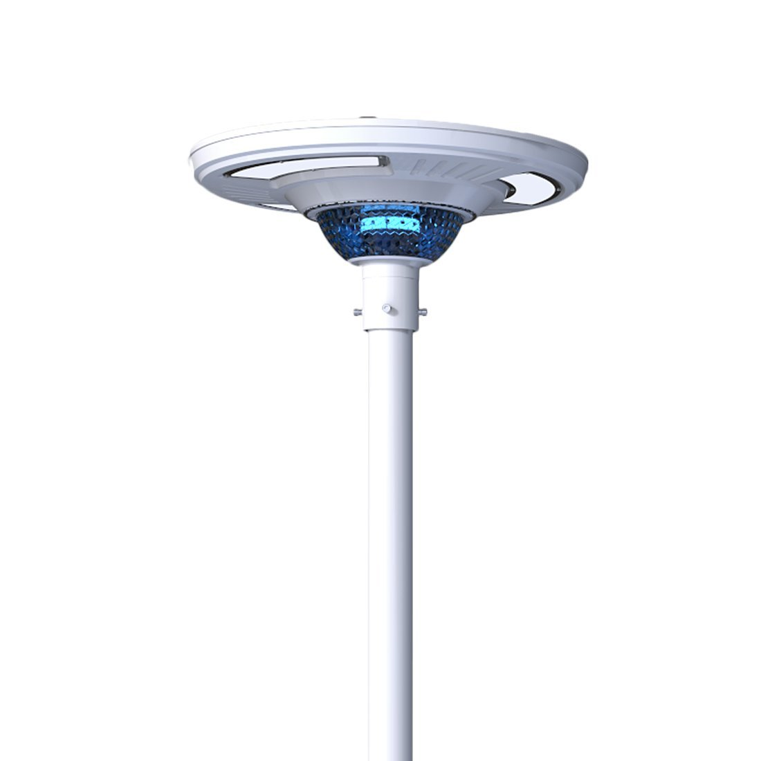 High Lumen All in One Solar LED Garden Light, Solar LED Street Light, Solar LED Plaza Light With Landscape Lighting (No Pole Included)