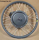 24'' Font Wheel Mountain Bike Modified 36-60V 500W E-bike Conversion Kit Refit