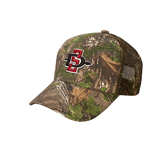NCAA San Diego State Aztecs Dynasty Adjustable Hat, Adjustable, Realtree AP