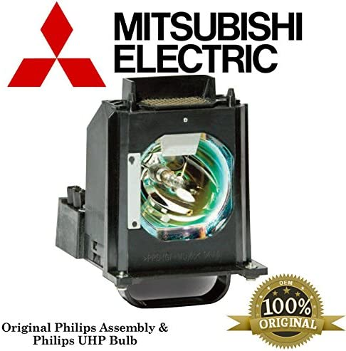 Mitsubishi WD60737 Rear Projector TV Assembly with OEM Bulb and Original Housing