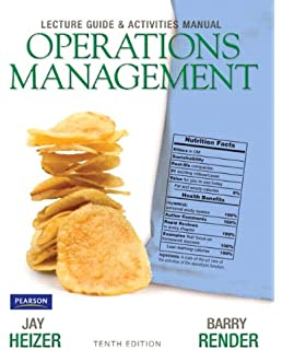 Operations management flexible version 10th edition jay heizer lecture guide and activities manual for operations management fandeluxe Image collections