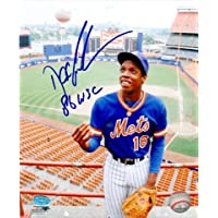 Autograph Warehouse 37113 Dwight Gooden Autographed 8 x 10 Photo New York Mets 1986 World Series Champion Rare Classic 80… photo