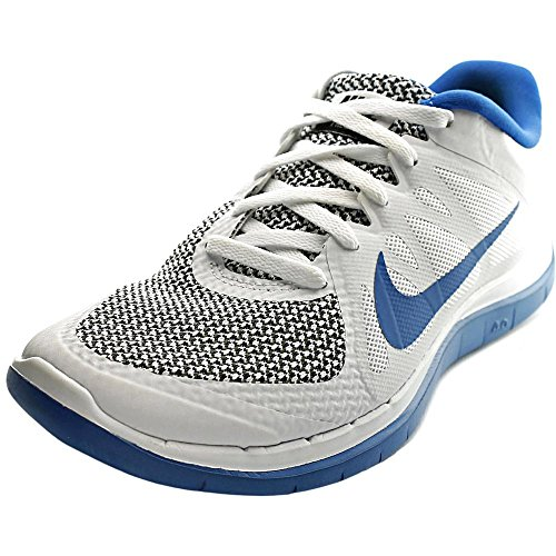 Nike Free 4.0 V4 Mens running shoes Model 642197 140 White/Military Blue/Black