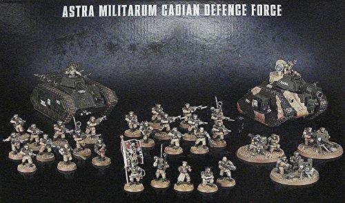 Warhammer 40k Cadian Defence Force Box Set by Games Workshop