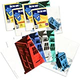 Doctor Who Party Napkins Set - 4 Pack Tardis Prints - Party Like the Doctor