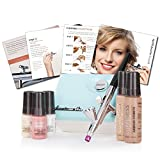 Luminess Air Aqua/White Legend Airbrush System with Cosmetic Starter Kit, Warm, 1.85 Ounce