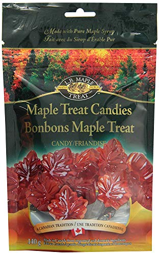 LB Maple Treat Hard Leaf Shaped Pure Sugar Candy /, used for sale  Delivered anywhere in USA