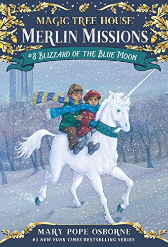Blizzard of the Blue Moon (Magic Tree House (R) Merlin Mission Book 8)]()
