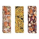 Mix Barras Superfoods 24 pz (8 Cacao, 8 Coco y 8 Cúrcuma)