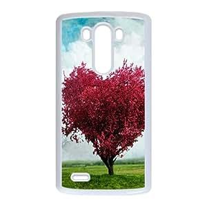 Love Tree LG G3 Cell Phone Case White