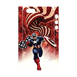 C-EUR Cell phone Protection Cover 3D Case Captain America For Iphone 5,5S