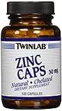 Twinlab Zinc 30 mg Capsules, 100 Count
