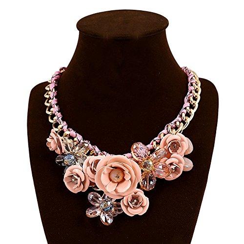 JewelryLove Acrylic Statement Necklaces Pendants