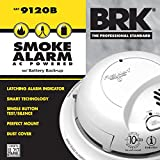 First Alert BRK 9120B Hardwired Smoke Alarm with Battery Backup (5)