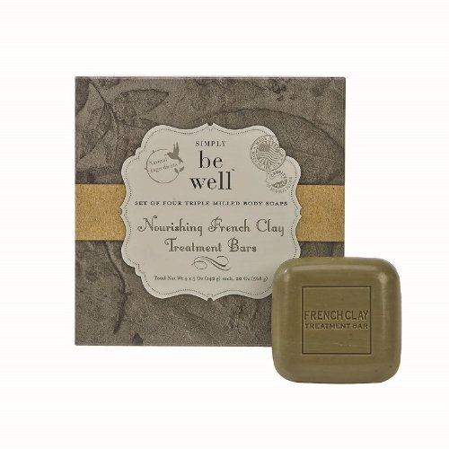 simply-be-well-organics-plant-based-set-of-four-french-clay-treatment-bar-soap-set