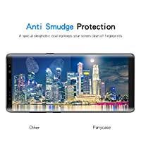 Galaxy Note 8 Screen Protector,Panycase Galaxy Note 8 Tempered Glass,[Case Friendly][[Anti-Bubble][3D Curved Glass]Tempered Glass Screen Protector for Samsung Galaxy Note 8 from Panycase