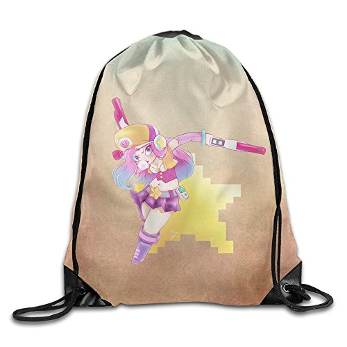 Miss Fortune Costume Lol (D2 Funny Miss Fortune Cartoon Sackpack)