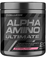 Cellucor Alpha Amino Ultimate EAA & BCAA Recovery Powder, Essential & Branched Chain Amino Acids for Post Workout Recovery,20 Servings