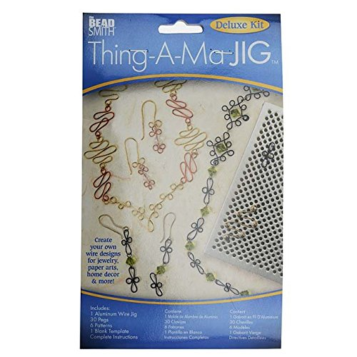 (Thing-A-Ma JIG Deluxe Metal Jewelry Wire Wrap Tool)
