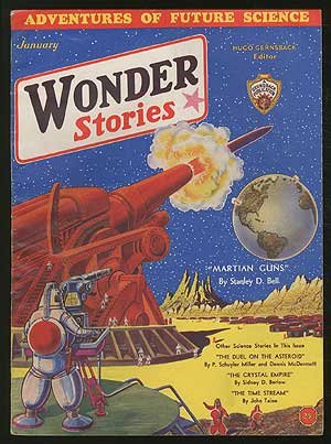 [Pulp magazine]: Wonder Stories --- January 1932 (Volume 3, Number 8)
