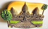 Angkor Wat CAMBODIA Khmer Resin 3D fridge
