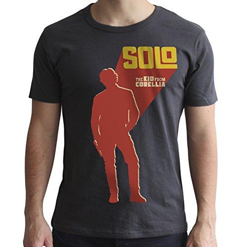 Corellia Men para Grey os Abystyle Dark ni de m Star Wars de Camiseta zBA8S