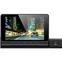 Wakauto 3 Cámara de Alta Definición Dvr de Automóvil Visión Nocturna Grabación de Video Digital de Automóvil 1080P…