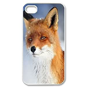 Customized Case Cover for iPhone 4,4S - Fox case 3