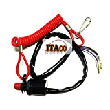 Stopswitch box Stop Switch Box Lanyard Cord fit Tohatsu Nissan Outboard 3T5-06830-0 2/4 stroke