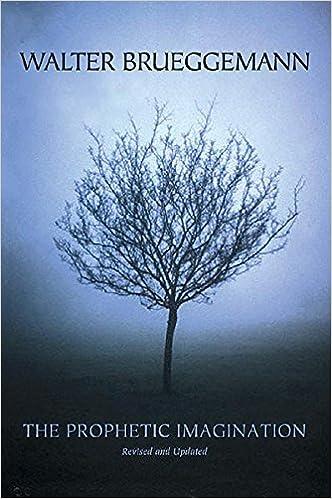 the prophetic imagination 2nd edition walter brueggemann