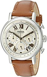 Fossil Men's FS5117 Analog Display Analog Quartz Brown Watch