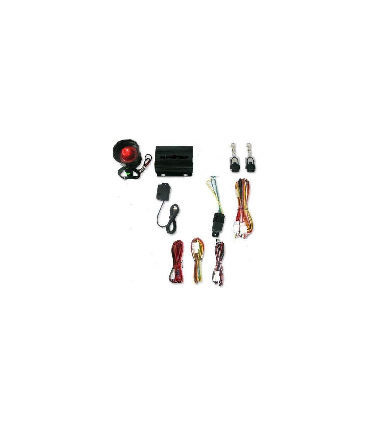 Trade Shop - KIT ALLARME ANTIFURTO UNIVERSALE AUTO SUV FURGONE CAMPER ROULOTTE 2 TELECOMANDI - 8022044072616 TrAdE shop Traesio