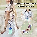 SS Phone Lanyard, 2 in 1 Adjustable Detachable Neck