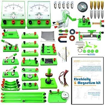 Amazon com: Teenii STEM Physics Science Lab Basic Circuit Learning