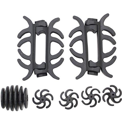 SAS Compound Bow Limb Dampener Set (Black) (Limb Silencer Dampeners)