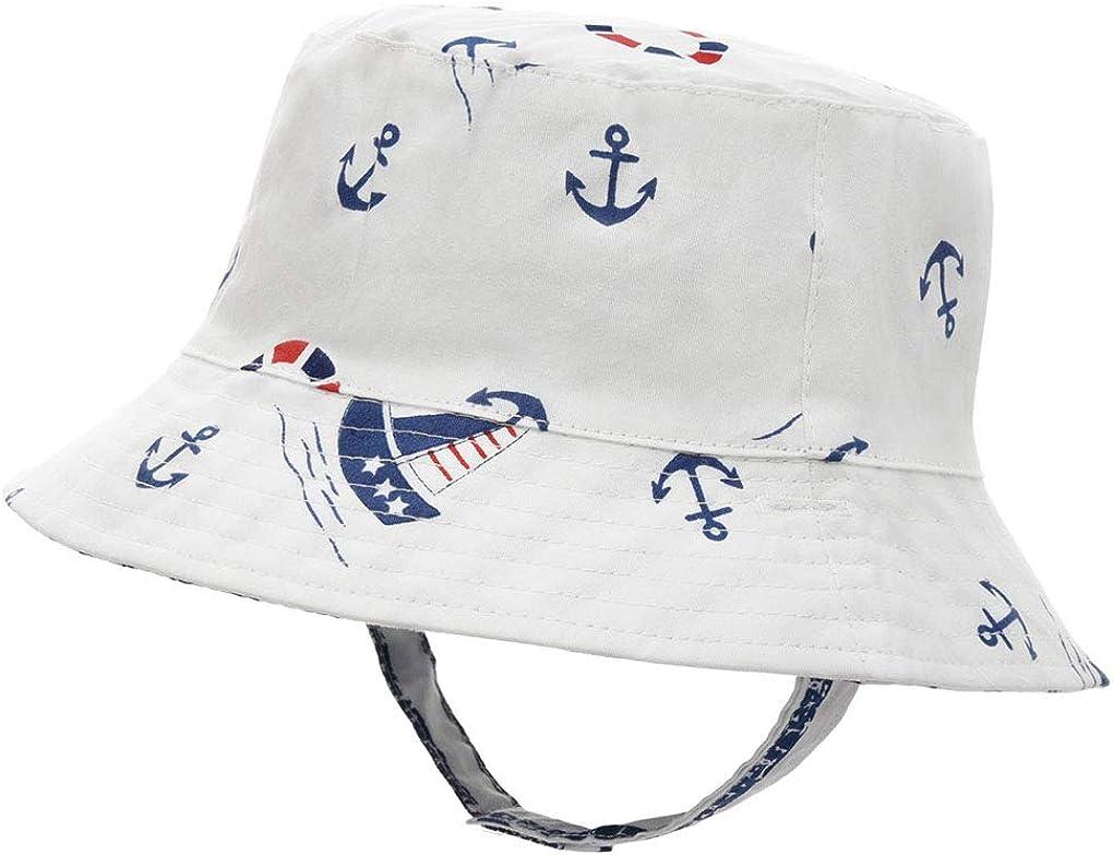 UCQueen Bucket Cap/Baby Kids Toddlers Baby Cartoon Animal Sun Basin Cap Children Fisherman Hat Sunhat