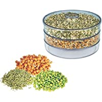 ATMAN Plastic Hygienic Sprout Maker Box with Container Organic Home Making Fresh