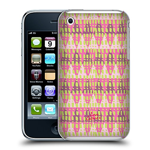 Official Cosmopolitan Triangles Aztec Brights Hard Back Case for Apple iPhone 3G / 3GS