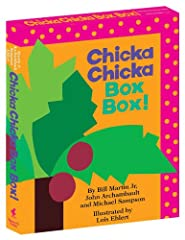 "Chicka Chicka Boom Boom, does your bookshelf have enough room? For this collectible boxed set, of course it does!A told Band B told C,""I'll meet you at the topof the coconut tree.""So begins the celebrated, rollicking alphabet chant that has b..."