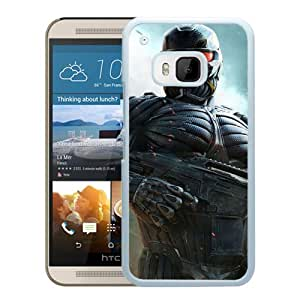 M9 case,Crysis Prophet Gun Look Houses Alcatraz White HTC ONE M9 cover