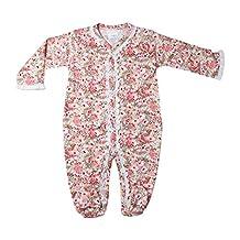 Pijama Morisketa flores rosa viejo 6 meses