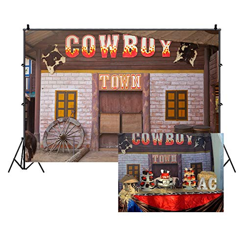 Country And Western Decorations - LFEEY 10x7ft Country Western Barn Backdrop