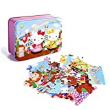 100 Pieces of Hellokitty Puzzle - Fun and Games for Learning and Entertainment, Exquisite Puzzle Toys for Children Aged 4-8 Years, Great Choice for Birthday Gifts