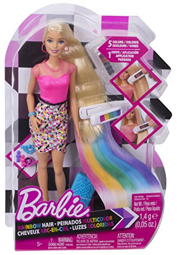 Barbie D.I.Y. Rainbow Hair Doll